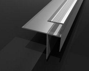 Alüminyum Parke Merdiven Burun Profili